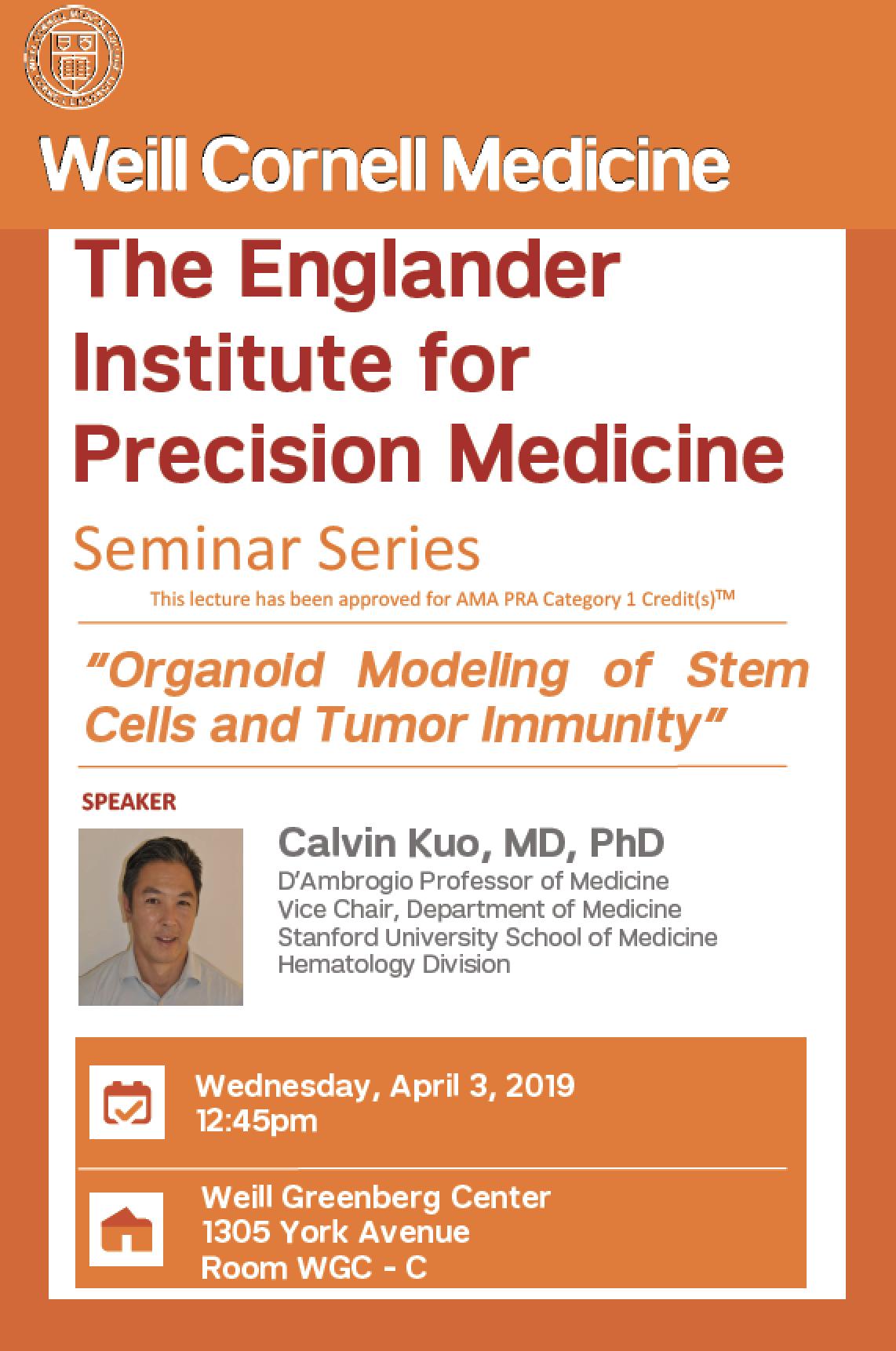 Events - Englander Institute for Precision Medicine