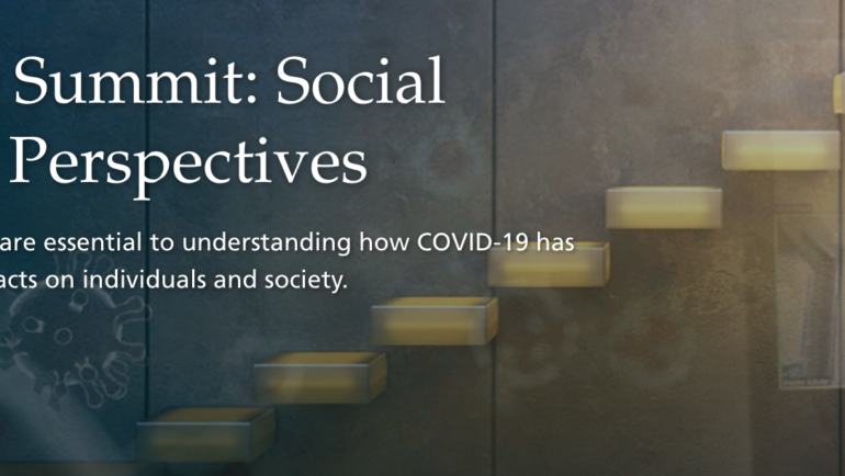 COVID Summit: Social Science Perspectives